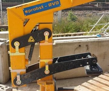 European Steel Ltd - Plant and Machinery - Concrete pipe lifters