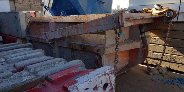 European Steel Ltd - Muck skips with frames