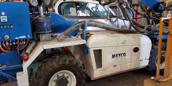 European Steel Ltd - Meyco concrete sprayer