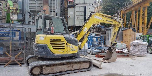 Yanmar 8T V1O Excavator