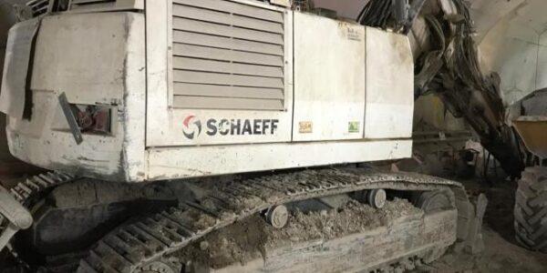TE201 Schaeff Tunnel Excavator